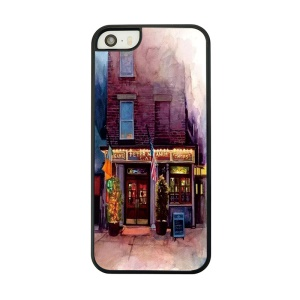 Store Painted Plastic Phone Case for iPhone 5 5s
