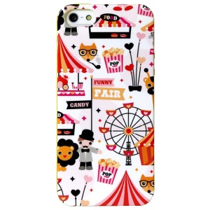 LOFTER Spring Fairy Series Flex IML TPU Cover for iPhone 5 5s - Happy Circus