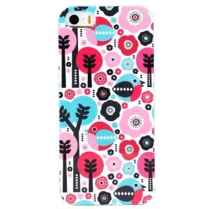 LOFTER Winner Sonata TPU Cover for iPhone 5/5S - Happy Bird Family