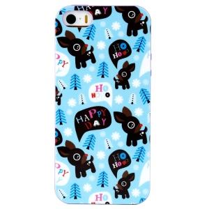 LOFTER Winner Sonata TPU Case for iPhone 5/5S - Happy Little Deer