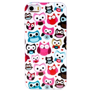 LOFTER Winner Sonata TPU Case for iPhone 5/5S - Happy Owl