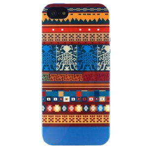 LOFTER Sweet Smell IML TPU Skin Cover for iPhone 5 5s - Classic Tribal Pattern