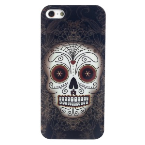 LOFTER Skull Series King of The Skull IML Soft TPU Case for iPhone 5 5s w/ Sweet Smell