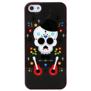 LOFTER Ferger Series Music Elves Skull IML TPU Case for iPhone 5 5s w/ Sweet Smell
