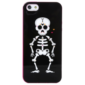 LOFTER Ferger Series Dominated the World Skull IML Soft TPU Cover for iPhone 5 5s