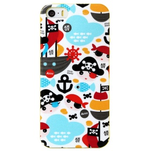 LOFTER Ferger Series Pirates of the Caribbean IML TPU Shell for iPhone 5 5s
