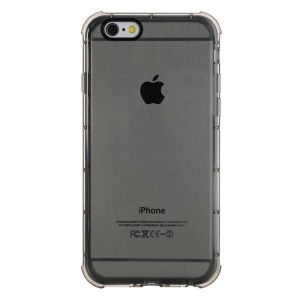 ROCK Fence Series Translucent TPU Case for iPhone 6 Plus - Black