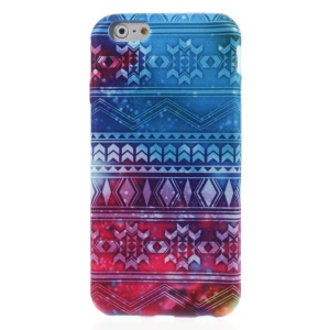 Visional Effect Cloth Coated TPU Case for iPhone 6 4.7-inch
