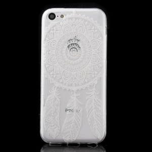Ultra Slim TPU Cover for iPhone 5C - Dream Catcher