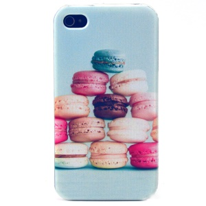 Macaron Cookies TPU Shell Case for iPhone 4s 4