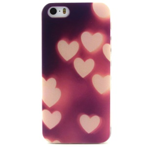 Hearts Protective TPU Gel Case for iPhone 5 5s
