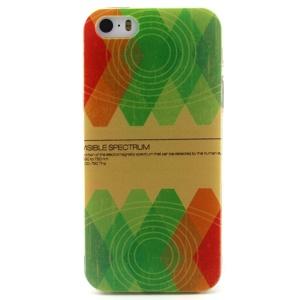 Geometric Figure TPU Protective Case for iPhone 5 5s