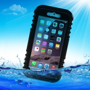 IP-68 Waterproof Heavy Duty Case for iPhone 6 4.7 inch - Black