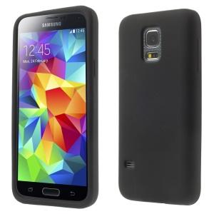 Soft Silicone Case for Samsung Galaxy S5 mini G800 - Black