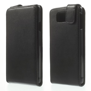Vertical Magnetic Flip Leather Case for Samsung Galaxy Alpha SM-G850F SM-G850A