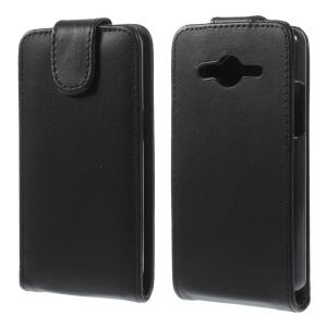 Vertical Magnetic Flip Leather Case for Samsung Galaxy Core 2 G355H