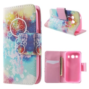 Dream Catcher Wallet Leather Cover for Samsung Galaxy Ace Style LTE G357FZ / Ace 4 G357FZ with Stand