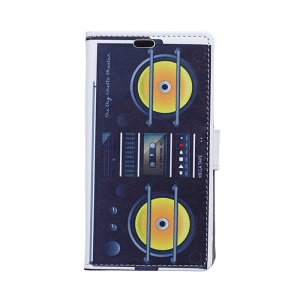 PU Leather Wallet Case Cover for Samsung Galaxy S6 Edge G925 - The Big Ghetto Blaster