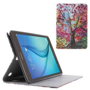 Oil Painting Tree Flip Leather Case for Samsung Galaxy Tab A 9.7 T550 T555