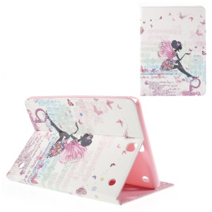 Leather Case for Samsung Galaxy Tab A 9.7 T550 with Stand - Butterfly Fairy
