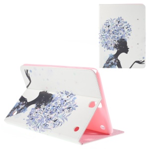Leather Cover for Samsung Galaxy Tab A 9.7 T550 with Stand - Flower Fairy