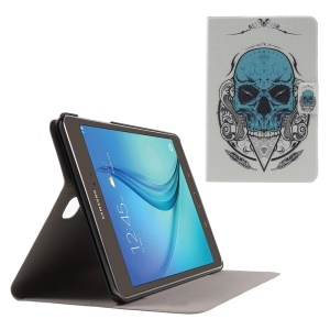 Flip Sweet Fragrance Leather Case for Samsung Galaxy Tab A 8.0 T350 - Cool Skull