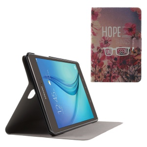 Flip Sweet Fragrance Leather Shell for Samsung Galaxy Tab A 8.0 T350 - Hope in the Things Unseen
