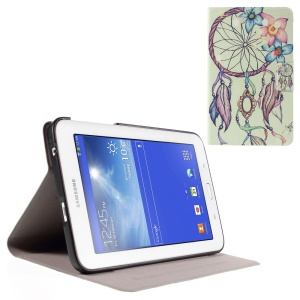 PU Leather Cover for Samsung Galaxy Tab 3 Lite 7.0 T110 T111 with Perfume Smell - Dream Catcher