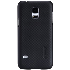Nillkin for Samsung Galaxy S5 mini G800 Super Frosted Shield Hard Case w/ Screen Protector - Black