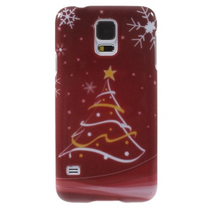 Christmas Stars & Snowflakes Pattern Shell for Samsung Galaxy S5 G900 i9600