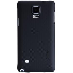 NILLKIN Super Frosted Shield Hard Case for Samsung Galaxy Note 4 N910 w/ Screen Flim - Black