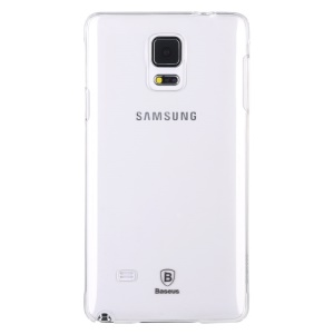 BASEUS Sky Series Transparent Clear Hard Plastic Case for Samsung Galaxy Note 4 N910
