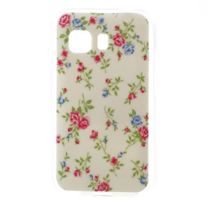 Beautiful Flowers Glossy TPU Case for Samsung Galaxy Young 2 SM-G130