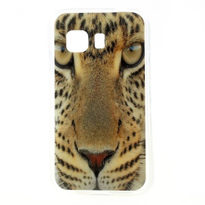 Cool Leopard Head Glossy TPU Shell for Samsung Galaxy Young 2 SM-G130