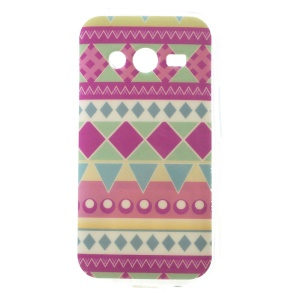 Tribal Geometric Figures TPU Cover for Samsung Galaxy Ace NXT SM-G313H