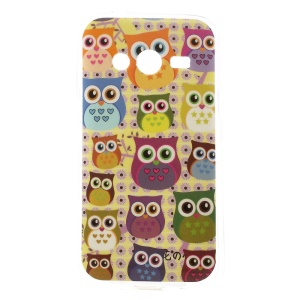Multiple Cute Owls TPU Cover for Samsung Galaxy Ace NXT SM-G313H