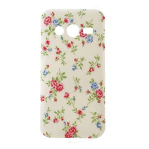 Pretty Flowers Glossy TPU Case for Samsung Galaxy Ace NXT SM-G313H