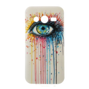 Colorized Eye Soft TPU Case for Samsung Galaxy Ace NXT SM-G313H