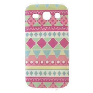 Glossy TPU Skin Cover for Samsung Galaxy Star 2 Plus G350E / Star Advance - Tribal Pattern