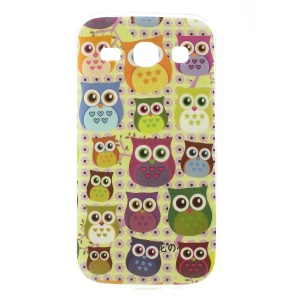 For Samsung Galaxy Star 2 Plus G350E / Star Advance Glossy TPU Case Cover - Multiple Owls