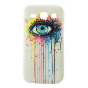 For Samsung Galaxy Star 2 Plus G350E / Star Advance Glossy Back TPU Case - Eye Painting