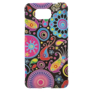 Paisley Flowers for Samsung Galaxy Alpha SM-G850F SM-G850A Glossy TPU Case