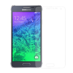 0.3mm Anti-explosion Tempered Glass Screen Guard Film for Samsung Galaxy Alpha G850F G850A (Arc Edge)