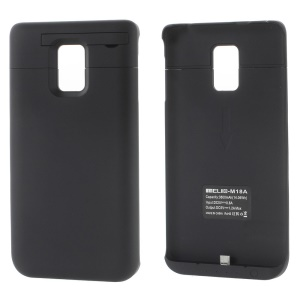 3800mAh for Samsung Galaxy Note Edge SM-N915T Battery Backup Charger Case - Black
