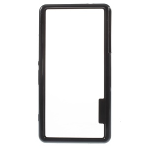 PC + TPU Hybrid Bumper Case for Sony Xperia Z3 Compact D5803 M55w - Black