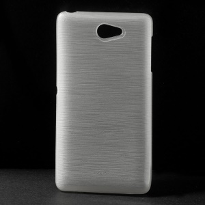 Brushed TPU Case for Sony Xperia Z2a D6563 - White