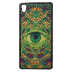 Mysterious Third Eye Pattern Leather Coated TPU Shell for Sony Xperia Z3 D6653 D6603