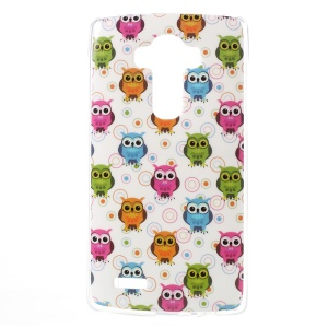 For LG G4 TPU Protective Case - Colorful Owls and Circles
