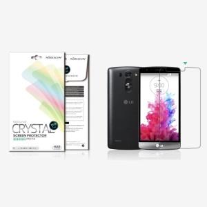 For LG G3 S Beat D722 D725 NILLKIN Anti-fingerprint Ultra Clear Screen Protector