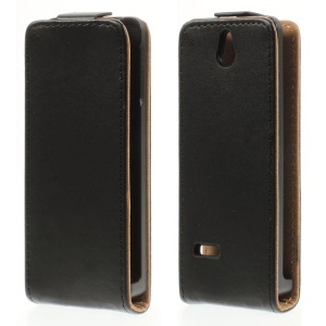 Vertical Flip Leather Case for Nokia 515